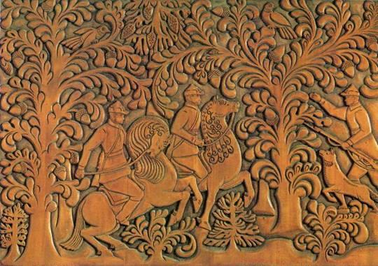 Художественная резьба и роспись по дереву